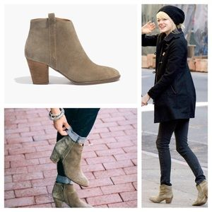 """Madewell """"Billie"""" boot in suede"""
